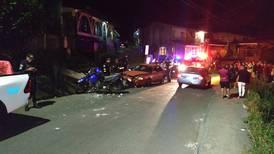 Policía herido en incidente con conductor que irrespetó retén en La Unión