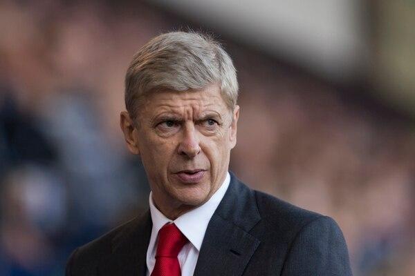 Arsene Wenger, técnico del Arsenal, durante el partido ante el West Bromwich.