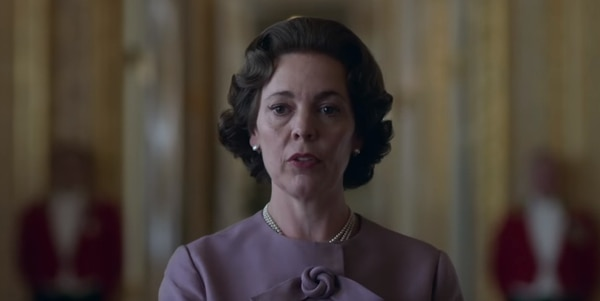 Olivia Colman como Isabel II. Fotografía; Netflix.