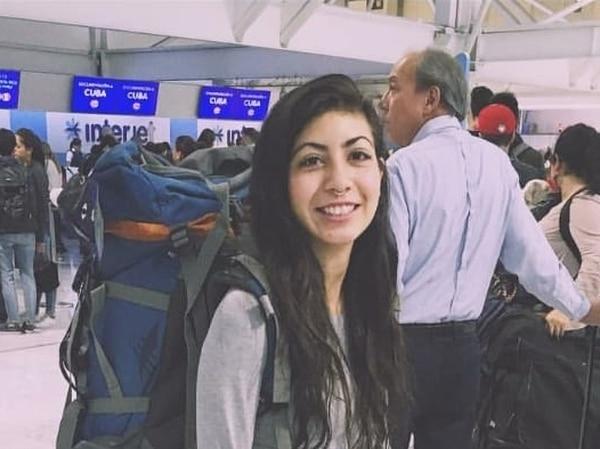 María Trinidad Matus Tenorio, de 25 años, viajó a Costa Rica para disfrutar de la naturaleza. Murió asesinada el 5 de agosto en playa Carmen, en Santa Teresa de Cóbano. Foto: Tomada de Instagram