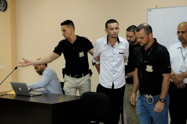 El Tribunal de Flagrancia de Limón condenó a Carlos Andrés Pérez a dos años de prisión el 27 de noviembre del 2018. La pena fue anulada el 26 de febrero. Fotografía: Rafael Murillo