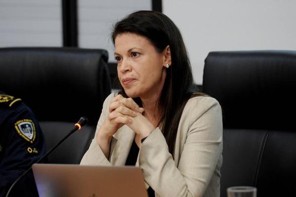 Fiorella Salazar ocupó el viceministerio de Seguridad Pública desde mayo de 2018 a la fecha. También trabajó como asesora en el Banco Interamericano de Desarrollo (BID). Fotografía: Melissa Fernández