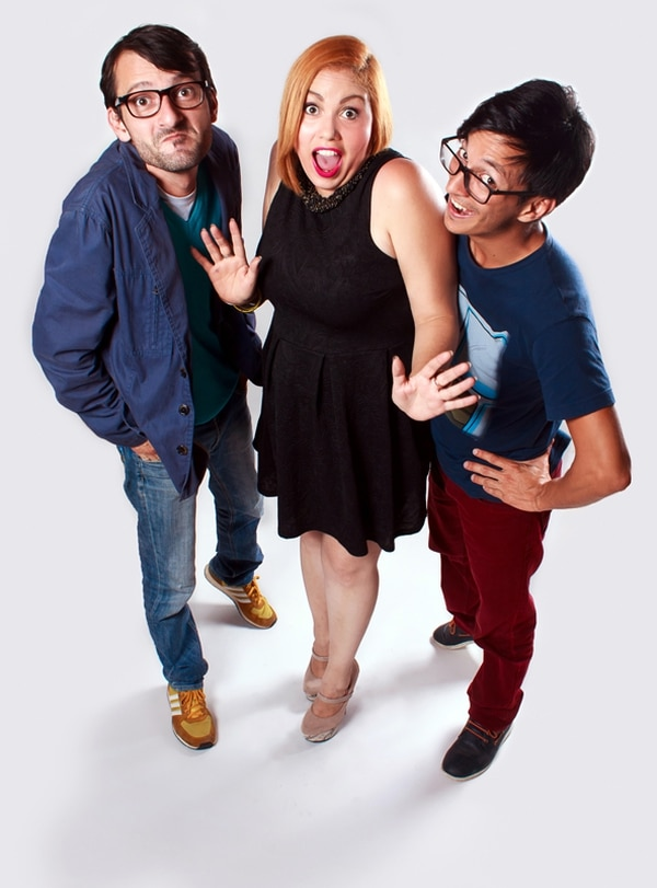 La terna encargada del espectáculo Rueda la risa está integrada por Simplemente Marvin, La Maravilla y Rodrigo Villalobos.