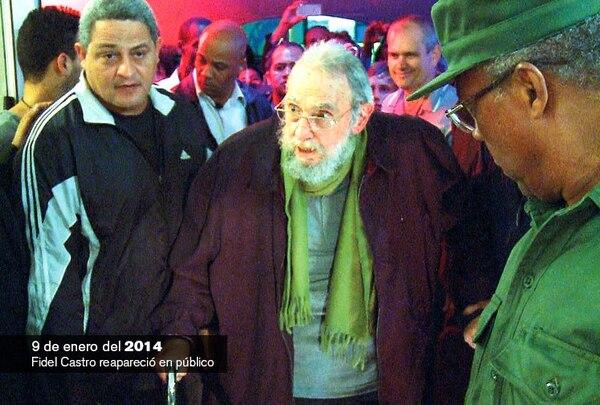 Fidel Castro se deja ver