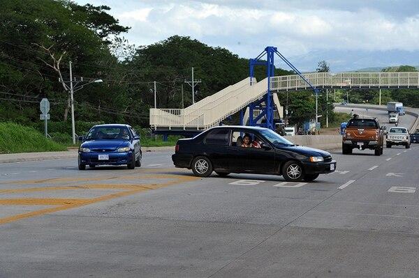 Carretera Cañas Liberia.