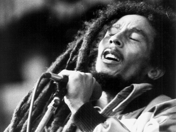 Bob Marley es un ícono de la música.