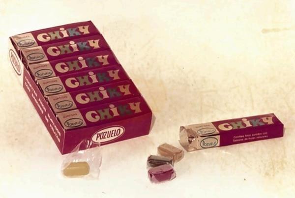Chiky es considerada la galleta estrella de Pozuelo. Desde 1980 el chocolate con vainilla ha sido uno de los sabores favoritos de los ticos. foto: Cortesía Pozuelo.