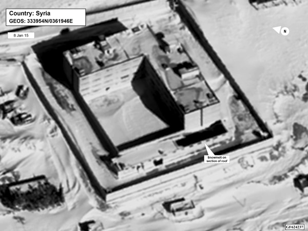 Este complejo penitenciario en Siria fue convertido en un gran crematorio, según denunció el lunes el Gobierno estadounidense.