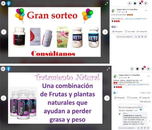 Salud recomienda a la población no usar estos productos. Foto: Ministerio de Salud para LN