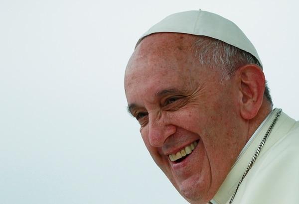 El papa celebró ayer una misa en la Jornada Asiática de la Juventud. | AP