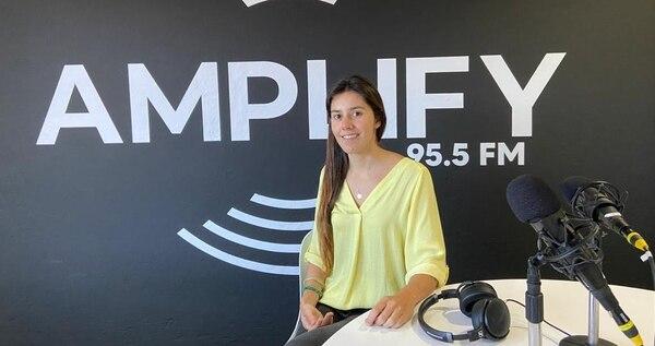 Daniela Alfaro, gerente de Columbia, lideró el proyecto de Amplify Radio. Foto: Cortesía.