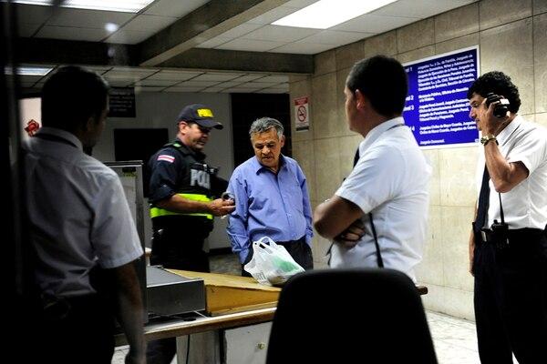 Justo Orozco fue detenido el 30 de junio por el supuesto intento de abuso sexual contra una joven que le pidió trabajo. | MELISSA FERNÁNDEZ.