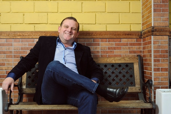 René Barboza tiene una trayectoria de más de 33 años en radio y televisión. Foto: Jorge Navarro.
