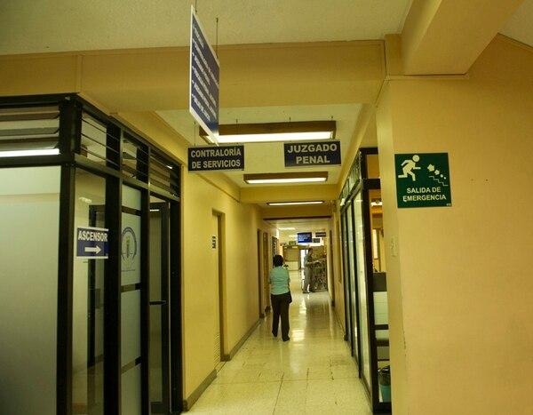 El caso contra el juez comenzó el martes, luego de que se halló una cámara oculta en un baño en los Tribunales de Heredia. | ARCHIVO