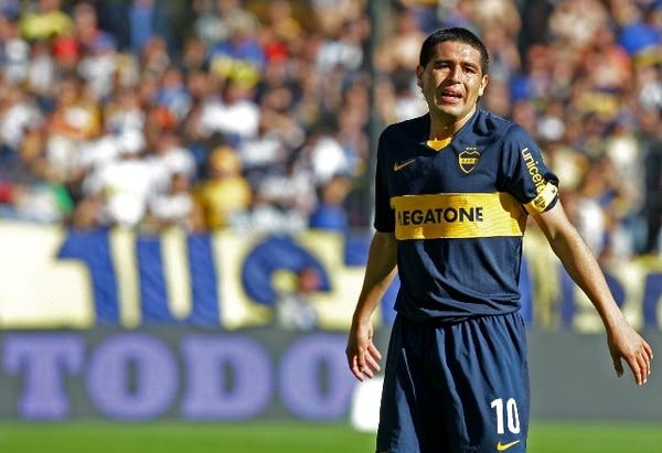 La vuelta de Juan Román Riquelme de poco ha ayudado al desempeño de Boca Juniors en el torneo Final del fubtol de Argentina. | ARCHIVO