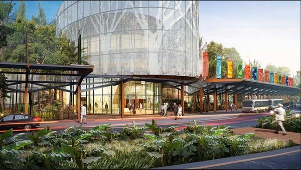 El Centro Nacional de Congresos y Convenciones tendrá un edificio de 15.600 metros cuadrados y estará en un terreno de 10 hectáreas, prestado por el Programa Integral de Mercadeo Agropecuario. La Autoridad Presupuestaria dice que se puede financiar con el superávit del ICT. | CORTESÍA ICT