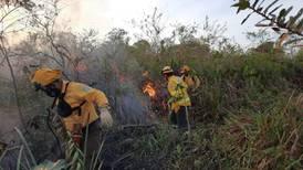 Ardieron 223 hectáreas de pastizales y charrales en Los Chiles, Alajuela