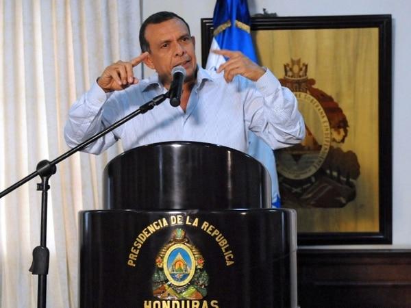 El gobierno del presidente Porfirio Lobo fue el que propuso el proyecto.   AFP