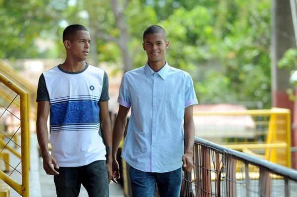 Miguel Ajú y Yael López afirman que son muchachos de bien gracias a sus mamás.