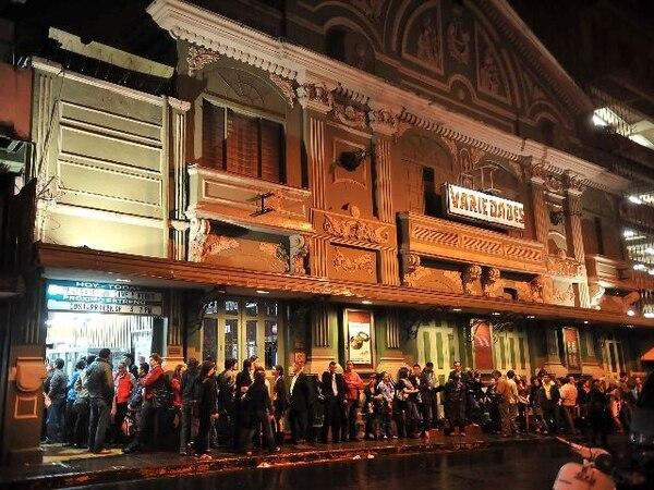 Variedades será una de las sedes del Festival Internacional de Cine 2012- Paz con la Tierra. Archivo.El cine