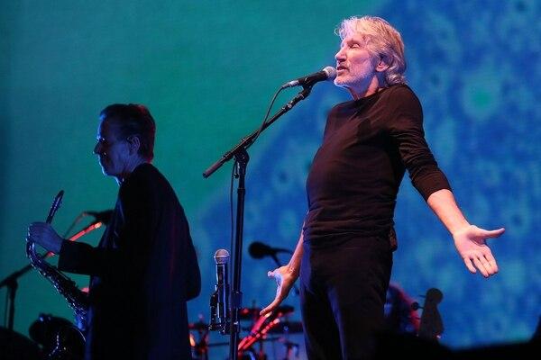 Presentación del legendario Roger Waters en el Foro Sol de la Ciudad de México la noche del 28 de setiembre.