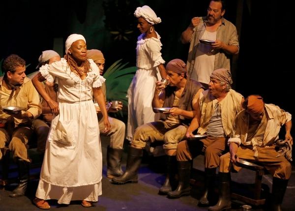 'Mamita Yunai' se presentará en el Teatro Popular Melico Salazar del 29 de marzo al 7 de abril. Foto: Albert Marín