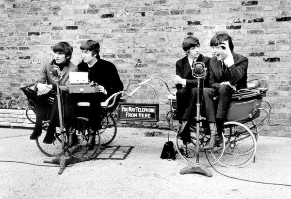 Fotograma de 'A Hard Day's Night', la primera película de los Beatles. (Miramax Films/The New York Times)