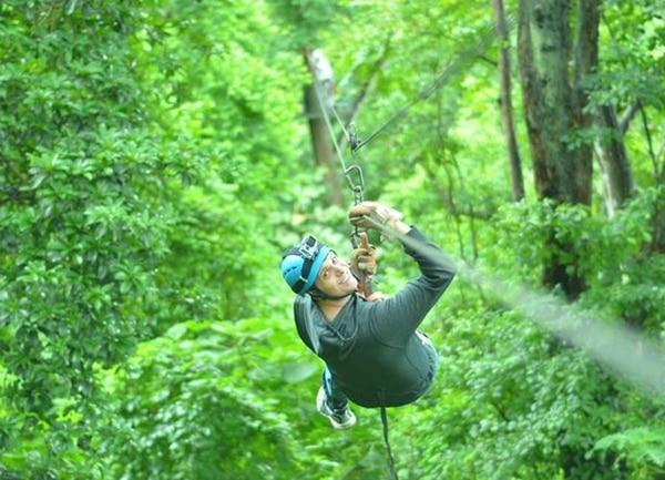 El canopy de Spider Monkey cuenta con 11 plataformas y guías preparadas para velar por su seguridad y mostrarle las bellezas de la flora y fauna del lugar. Foto: Spider Monkey para LN