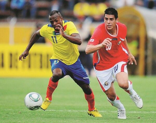 Christian Benitez jugó ante Costa Rica un partido amistoso disputado el 6 de setiembre del 2011. Ese día marcó el cuarto gol al minuto 75' en el triunfo de Ecuador 4-1 en Quito.