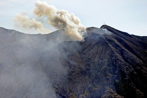 El volcán Turrialba es el más activo del país. Este volcán es el segundo más alto de Costa Rica con 3340 metros de altitud. | ARCHIVO/ A. TENORIO