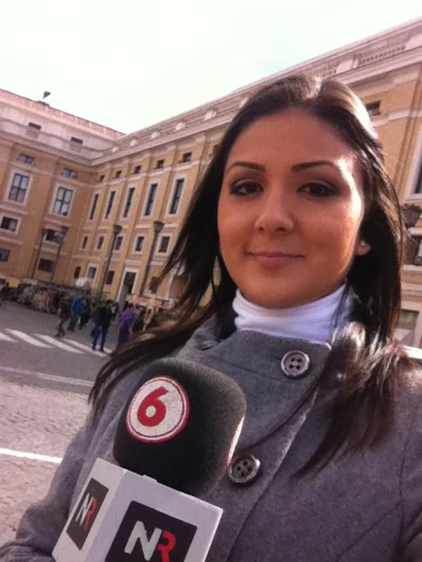 Experiencia. Gabriela Muñoz laboró en Repretel y en la revista TV y Novelas . Cortesía Gabriela Muñoz