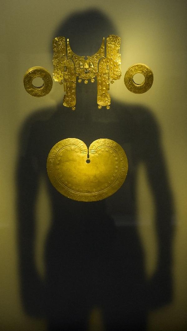 El Museo del Oro en Bogotá,es de los más visitados de Colombia recibe cerca de 500.000 personas cada año y sus obras se pueden apreciar también en la galería Google Art Project | EITAN ABRAMOVICH/AFP