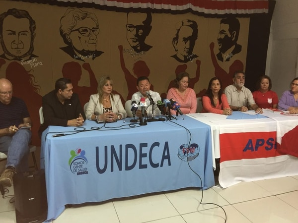 El Bloque Unitario Sindical Costarricense (Bussco) no se sumará a Patria Justa en una eventual huelga general. Los sindicalistas de la Caja y de la educación pública prefieren realizar un movimiento propio a finales de octubre.