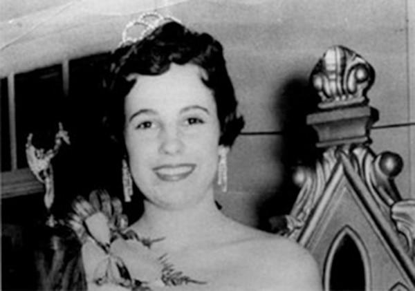 Marian Esquivel fue la primera tica en clasificar al top 10 de Miss Universo, en 1954. Foto: Archivo.