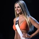 Sarah Rose Summers es la aspirante estadounidense a la corona del Miss Universo. Foto: AFP.