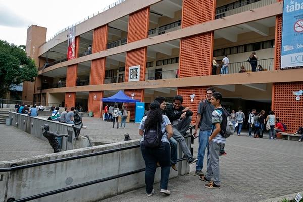 La Universidad de Costa Rica (UCR) tiene 40.000 estudiantes, aunque más de la mitad tienen beca, el principal gasto de la institución es por salarios, que llegan a ¢110.000 millones, de ese monto ¢45.000 millones se debe a anualidades. | MAYELA LÓPEZ/ARCHIVO