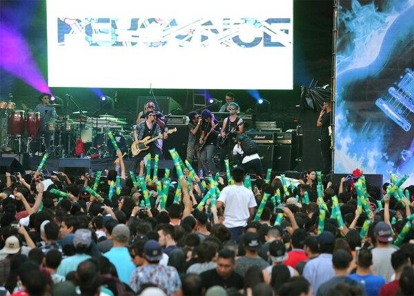 La banda costarricense Percance será uno de los invitados musicales del Festival Transitarte 2018. Foto: Albert Marín/Archivo.