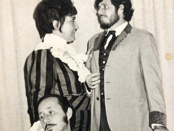 'Danza Macabra' fue un montaje de 1970 dirigido por Daniel Gallegos, con los Catania y Ana Poltronieri. Foto: cortesía TU.