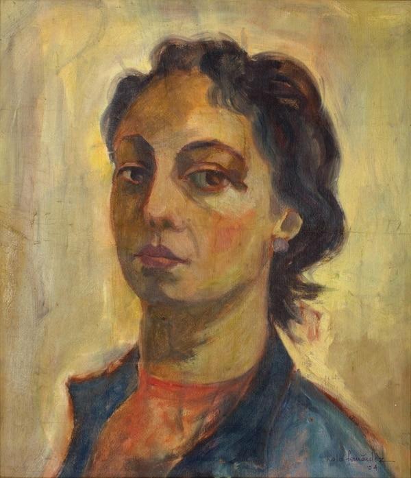 Autorretrato (1954-1956).