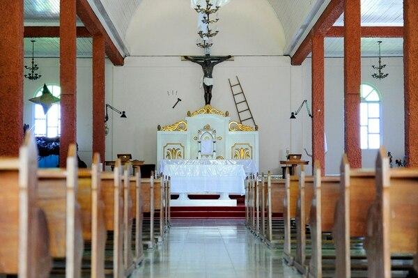 La iglesia del Cristo de Esquipulas se ubica en el distrito de Esquipulas de Palmares a un kilómetro al este del centro del cantón. | MELISSA FERNÁNDEZ.