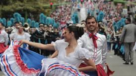 Ticos celebraron con tambores, marimbas y trajes típicos los 198 años de independencia de Costa Rica