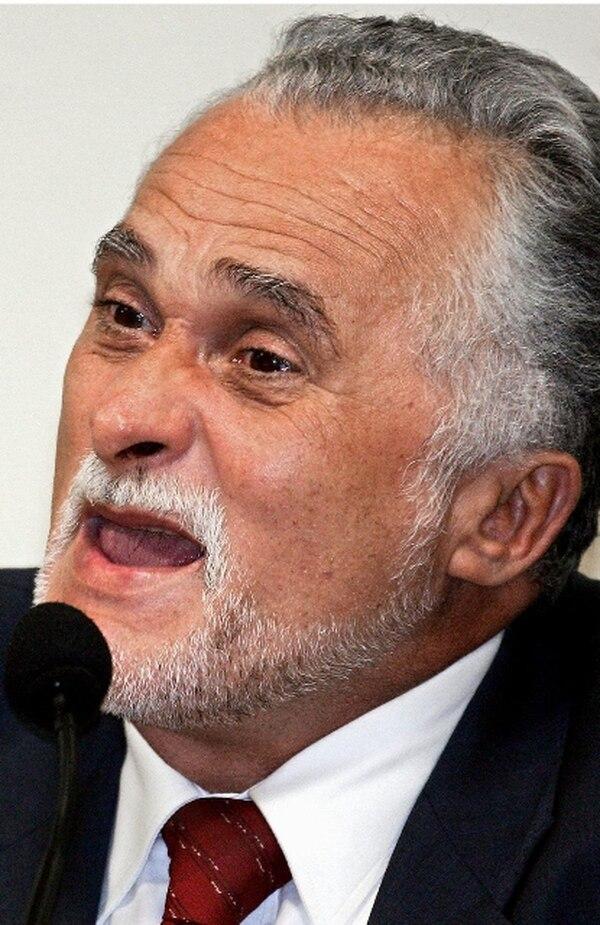 José Genoino fue encontrado culpable de cargos de corrupción. | AFP.