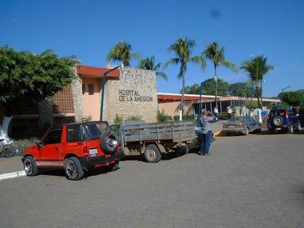 Uno de los muchachos falleció en el Hospital de Nicoya. | ARCHIVO.