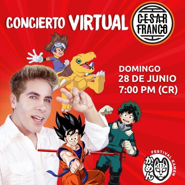 El intérprete mexicano César Franco es una de las voces más reconocidas dentro de la cultura 'geek'. Foto: Cortesía Imperio Anime.