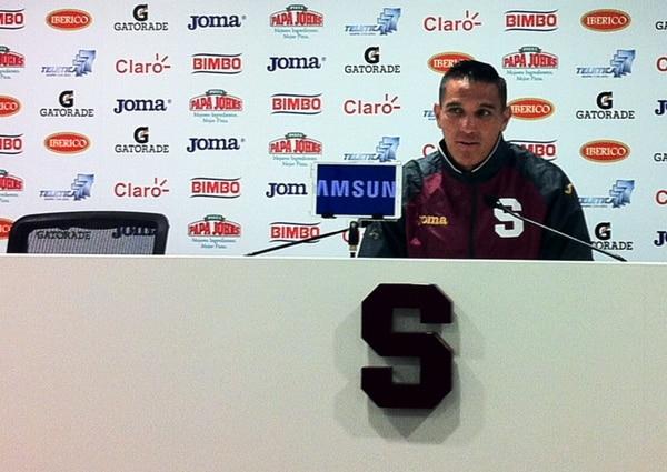 David Guzmán dijo que la afición morada está en su derecho de exigir más al equipo y que ellos desean ser un equipo avasallador, como piden desde las gradas.