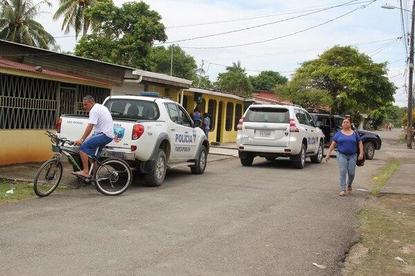 La familia de la víctima era reconocida en la zona por las fuertes discusiones que tenían, según comunicó la Policía. Foto: Raúl Cascante