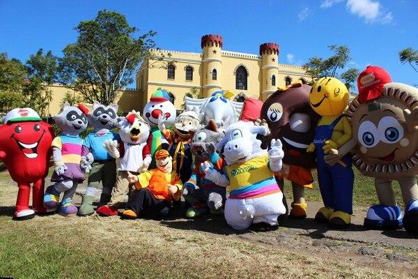 Competidores. Aproximadamente 30 personajes participarán en el campeonato. Museo de los Niños para La Nación