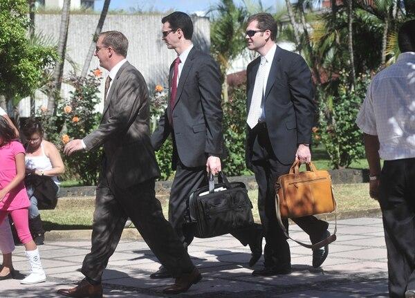 Varios agentes del FBI visitaron San José en mayo pasado con motivo de la visita del presidente de Estados Unidos, Barack Obama, a Costa Rica.