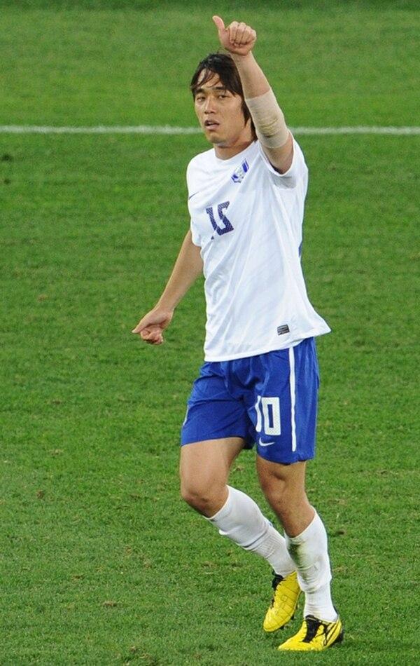 Park Chu-Young, jugador del Arsenal inglés, es capitán de la selección de Corea del Sur. / Archivo
