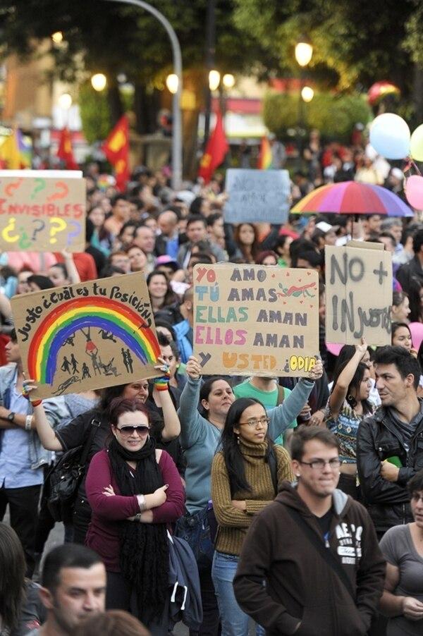 El pasado 7 de marzo hubo una marcha por la diversidad. | ARCHIVO